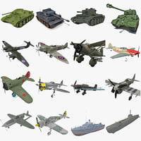 World War II Vehicle Collection