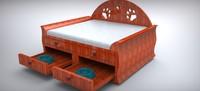 dog bed 3d 3dm
