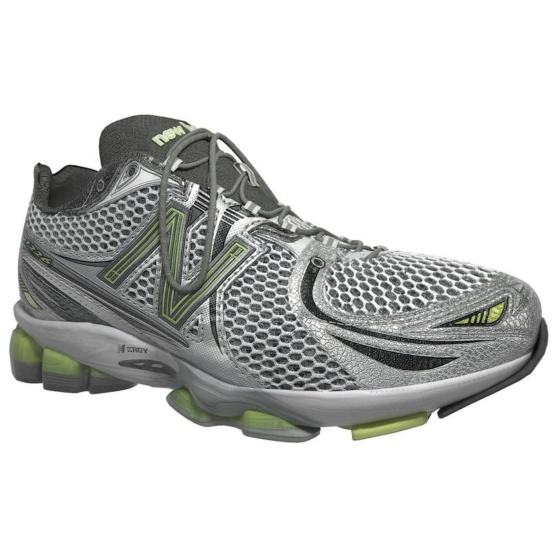 3d new balance sports shoe model