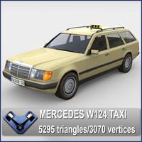 Mercedes W124 Taxi
