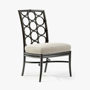 mcguire laura kirar dining chair 3d max