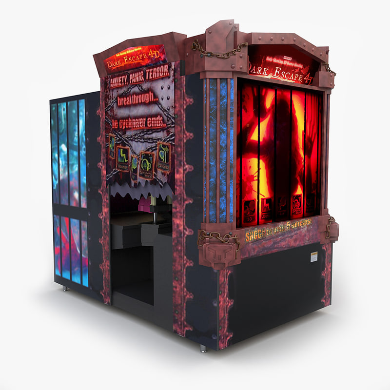 3d model of video arcade