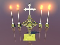 church relics 3d obj