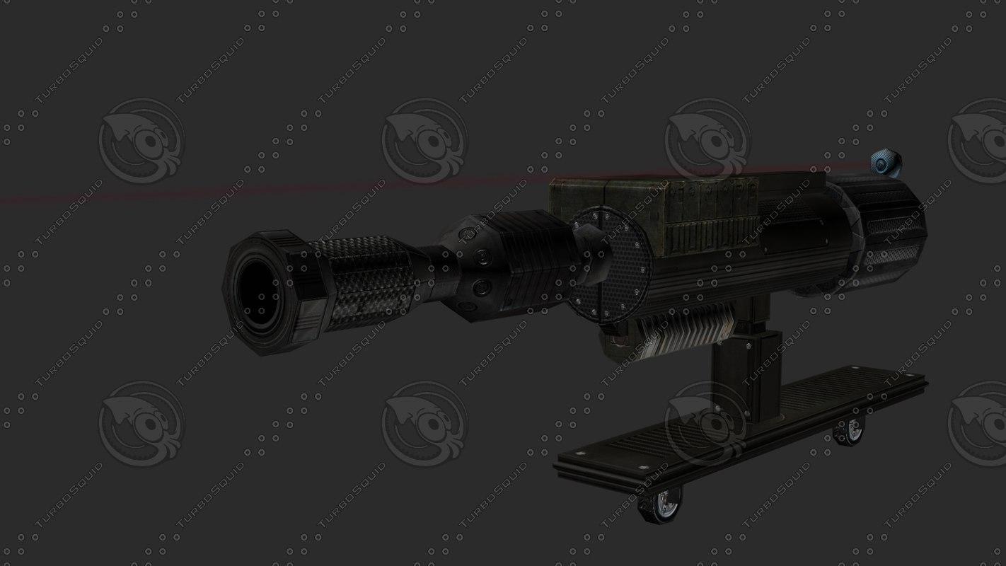 3d gun radar