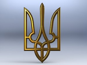 coat arms ukraine 3ds