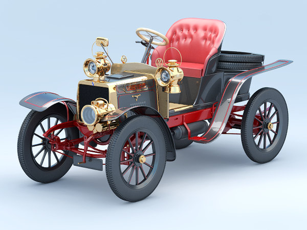 3d darracq genevieve model
