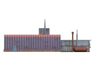 3ds max factory warehouse