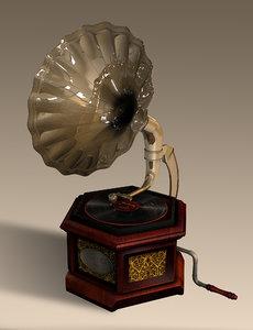 3ds gramophone