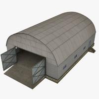 hangar 3d max