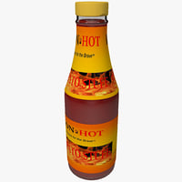 Hot Sauce Bottle 2