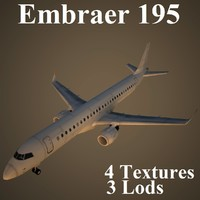 max embraer low-poly