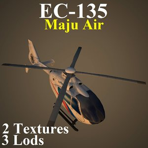 eurocopter mas 3d model