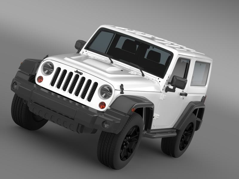 3ds max jeep wrangler moab 2012