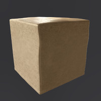 3d model jesse contemporary pouf