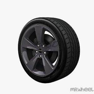 3d wheel mrwheel model