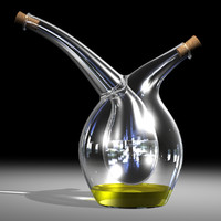 mojoo vinegar cruet oil 3d 3dm