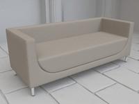3d model berliner sofa