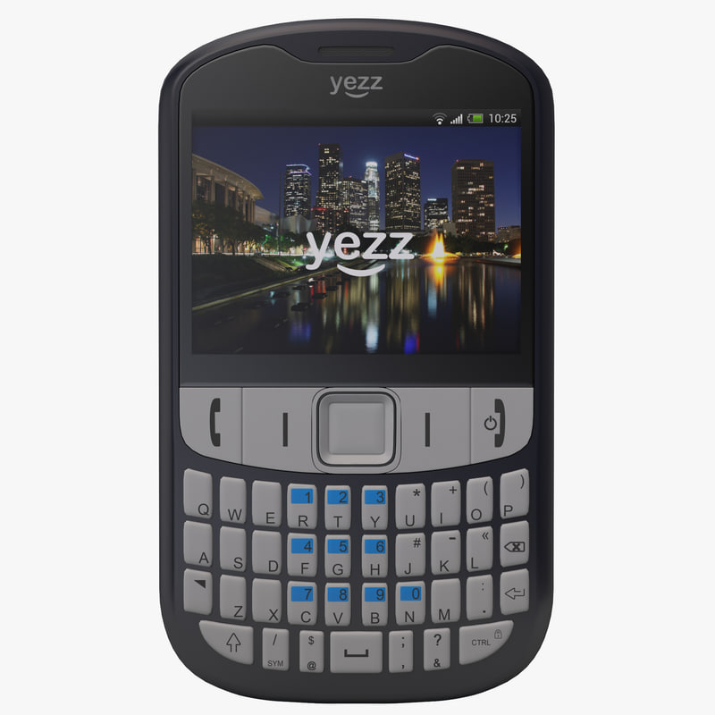 3d yezz bonito bb yz513 model