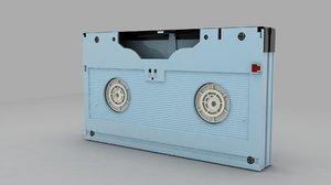 digibeta tape 3d model