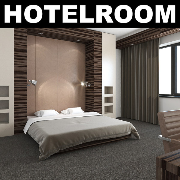 3d bedroom realistic
