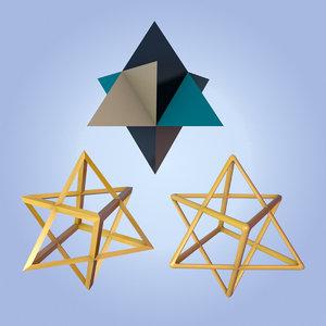 merkaba symbol 3d max