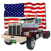 US Truck (for Poser and Vue)