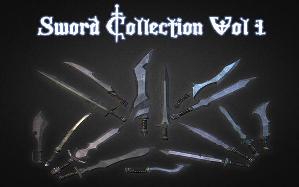 sword vol 1 3d model