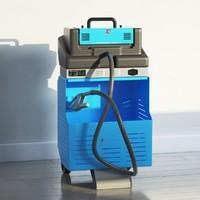 emission tester 3d model