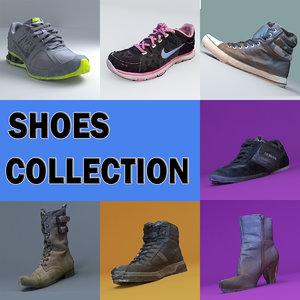 3d model shoes sport trainer