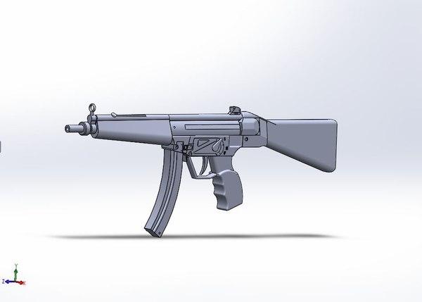 MP5 3D Models for Download | TurboSquid