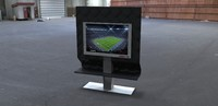 3d model tv mount