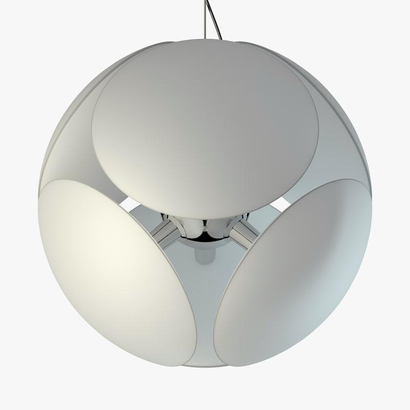 Awesome Pendant Lamp Foscarini Bubble 3d Max Awesome Ideas