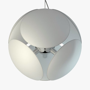 pendant lamp foscarini bubble 3d max