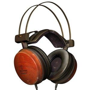3d ath w1000x headphone technica