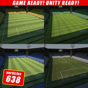 3dsmax soccer stadium