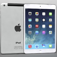 apple ipad air mini 3d max