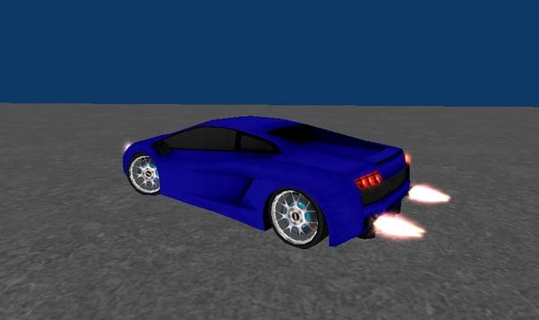 low-poly 3d model