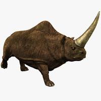 Elasmotherium 2 Pose 2