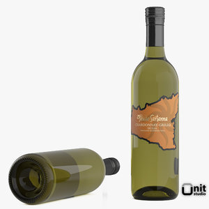 3ds bottle wine feudo sartanna