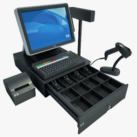 Hewlett Packard Cash Register 02