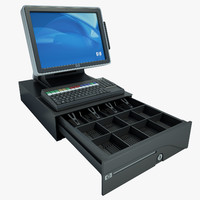 Hewlett Packard Cash Register 03