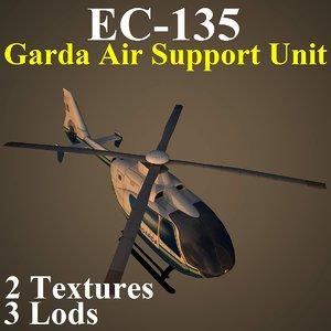 3d eurocopter gas