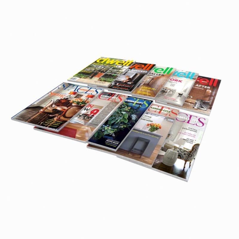 3ds max magazine set