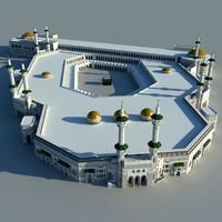 3d masjid al-haram model