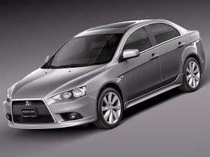 3d 2010 2014 sedan sport model