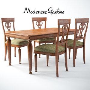 modenese gastone art 5185 3d 3ds
