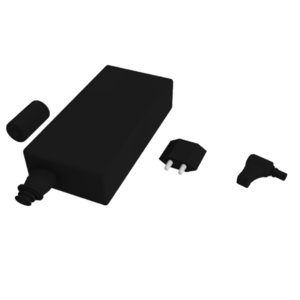3d laptop battery model