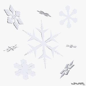 3ds max snowflake crystal