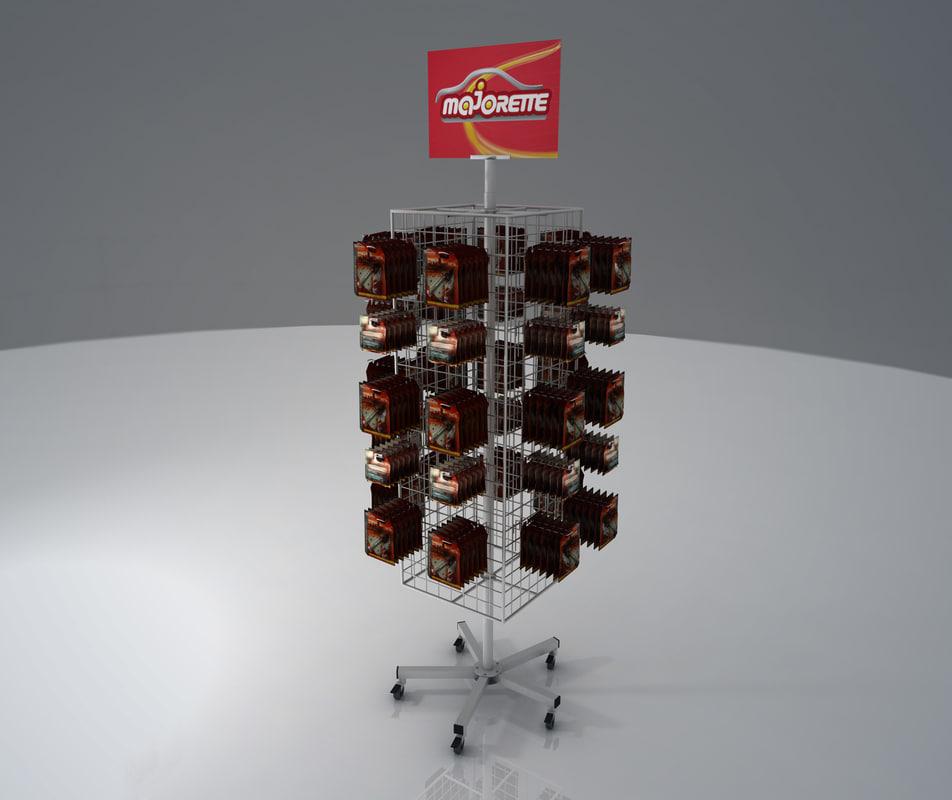 shelf merchandise 3d model