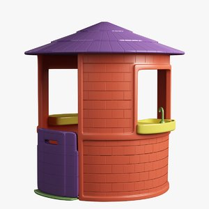 model small house toy